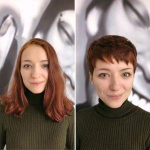 OVE žene su otišle frizeru i rekle da žele TRANSFORMACIJU! Odrezao im SVU  KOSU, evo kakve su izašle, kad vidite BROJ 3, NEĆE VAM BITI DOBRO(FOTO) |  Žena Portal